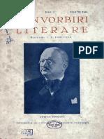 Convorbiri Literare anul LXXVII, nr. 3, martie 1944