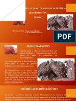 Conservacion Pordesidratacion. PROCESOS III