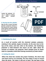 Button Manufacturing Process