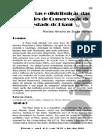 Categorias e Distribuição das Unidades de Conservação no Piauí