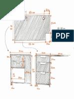 2D desk plan