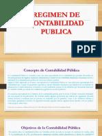 Regimen de La Contabilidad Publica