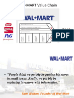 Value Chain Walmart