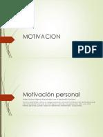 exposicion motivacio