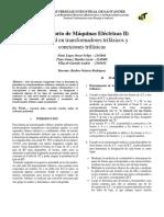 2do Informe Lab de Máquinas MEII