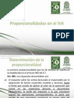 Proporcionalidades en El IVA