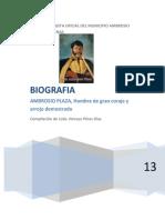 Biografía Ambrosio Plaza