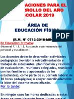 1. Orientaciones Para El Desarrollo Del Año Escolar 2019