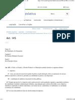 Constituição Da República Federativa Do Brasil - Art. 145
