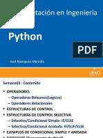 Python Computacion en Ingenieria