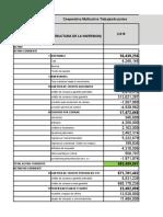 Datos Para Calcular Los Indicadores de Liquidez y Endeudamiento. (1)