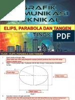 Elips, Parabola dan Tangen.ppt