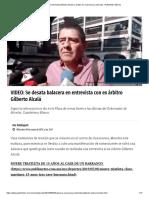 Balacera Entrevista Gilberto Alcalá Ex Árbitro en Cuernavaca, Morelos _ Publimetro México