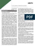 Contrato de Condiciones Generales CTS BCP