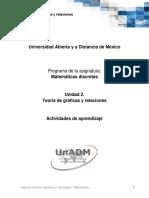 Unidad 2 Actividades de Aprendizaje Dmdi