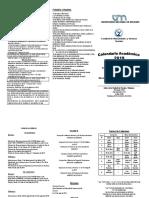 calendario de examenes 2019