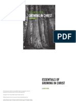 Essentials of Growing in Christ (Booklet)