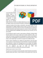 Cómo Un Cubo de Rubik