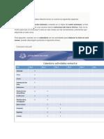 1. Previa y Documentos de Informacion