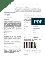 La Identificación de Metales de Acuerdo a Su Coloración
