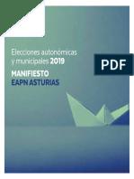 EAPN Asturias Manifiesto Elecciones Autonómicas y Locales 2019