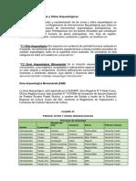 Descripción de Zonas y Sitios Arqueológicos.docx