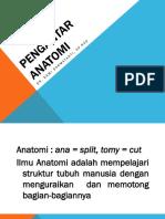 1. Pengantar anatomi