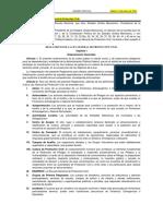 Reglamento de La Ley General de Protecci n Civil