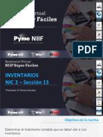 Inventarios NIIF FG