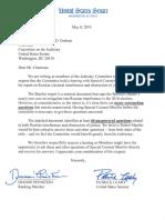 Senate Judiciary Dems on Mueller
