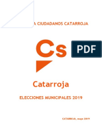 PROGRAMA Municipal Cs_Catarroja 2019 Castellano