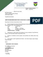Surat Jemputan Perasmi Mesyuarat Pibg