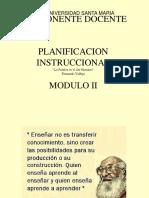 Planificación Instruccional MODULO II