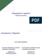MCI I Interpolacion y Regresion