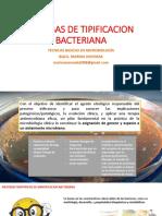 Técnicas de tipificacion bacteriana