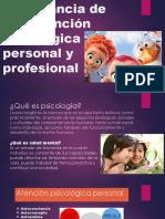 Importancia de Una Atención Psicológica Personal y Profesional