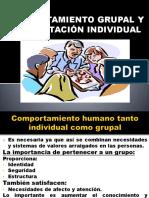 Comprtamiento Grupal y Su Adaptación Individual