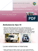 Ambulancias Tipo 3