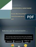 Comunicación y Salud Mental