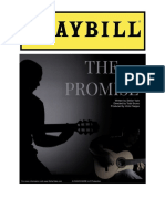 The Promise (Playbill)