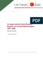 DT8 2015 Powell Larga Marcha Europa Espana Comunidad Europea 1957 1986