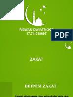 Ppt Zakat Ridwan Dwiatmoko