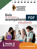 Guía Servicios de Acompañamiento Estudiantil UPB Med