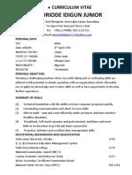 Curriculum Vitae (2) - Copy