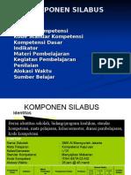 KOMPONEN-SILABUS