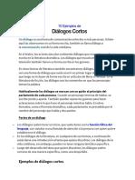 10 Ejemplos de dialogos cortos.pdf