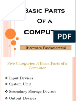 Basic Parts of a Computer - Hardware Fundamentals