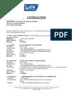 Cotiz. Maq. Quinua Viviana Santignon - Argentina