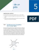 Conceptos y ejercicios de Equilibrio de un cuerpo rigido.pdf