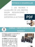 RECIBO Y DESPACHS.pptx